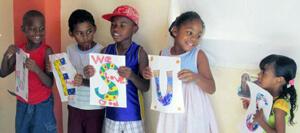 Guyana VBS kids