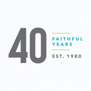 40 Year Celebration Logo